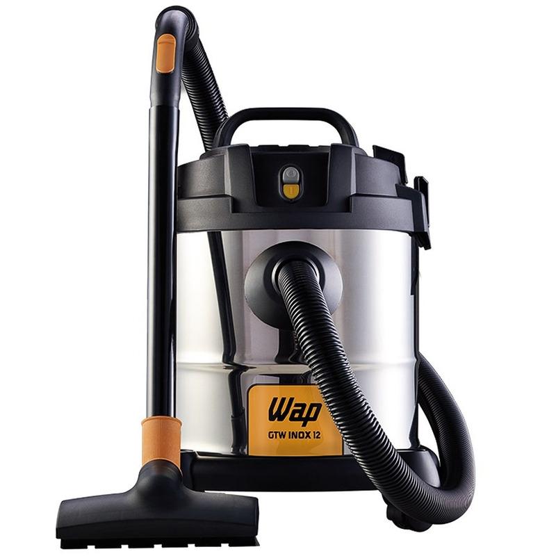 Aspirador de Água e Pó 12 Litros 1400 Watts GTW INOX 12 - Wap