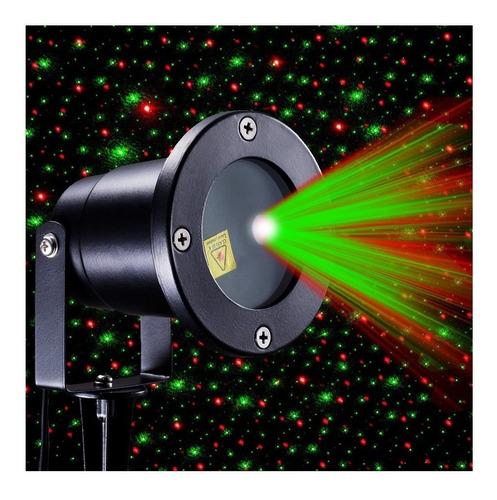Espeto Laser Jardim Projetor Bivolt Luzes Natal Com Desenhos Original