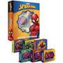 Kit Box De Histórias Com 6 Livros Infantil Homem Aranha!!!