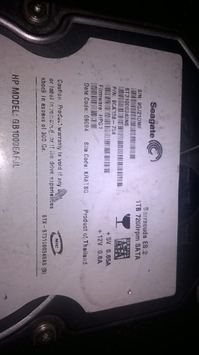 Placa Logica Hd 1tb Seagate St31000340ns Pcb 100466824 Rev C Original