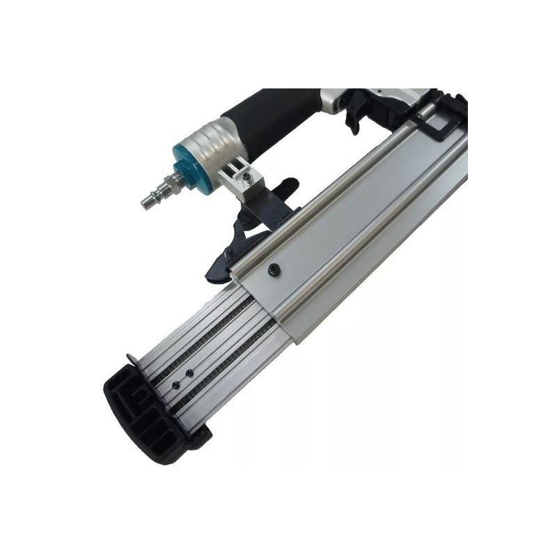 Kit Pinador Pneumático AF505N + Óculos de Segurança Lente Âmbar 004115-1 - Makita