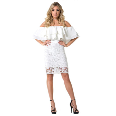 VESTIDO  OFF WHITE CIGANA - RVE00027