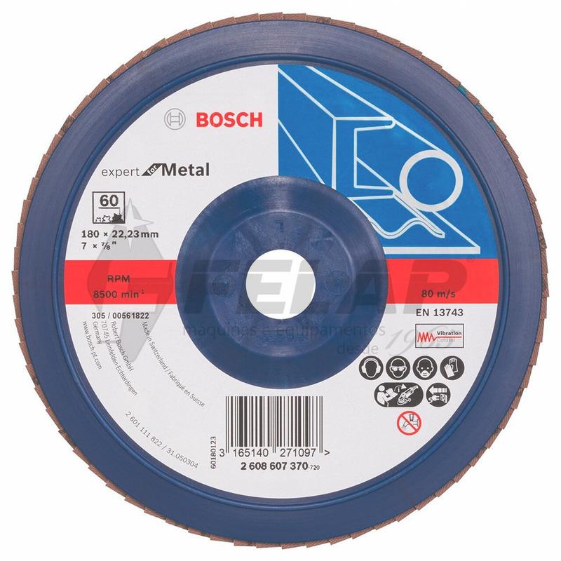 Flap Disc Blue Metal 7 #60 - Bosch