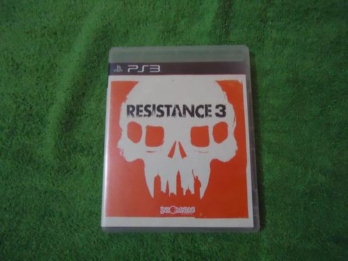 Super Game Ps3 Resistance 3 Original