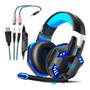 Fone Gamer Headphone Ps4 Pc Xbox Um Gaming P2 Sades