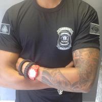 Camisa Preta Polícia Penal - SEAP - Bordada CHUMBO