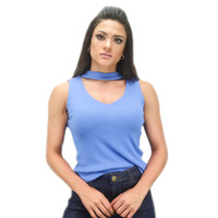 REGATA AZUL ROYAL CHOCKER - RBL00064