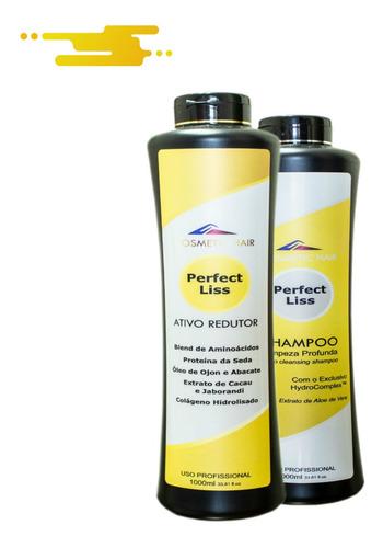 Escova Nanotecnológica 0% Formol Compatível C/ Tioglicolatos Original