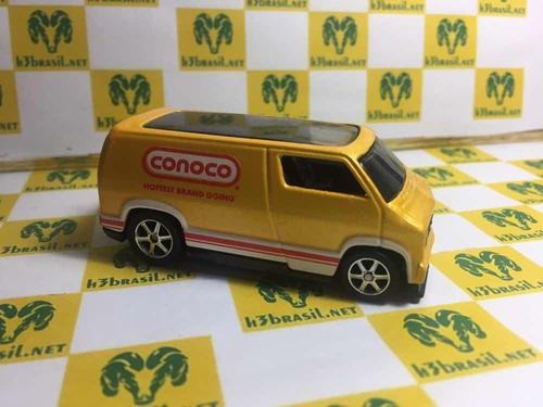 Bx05 Hot Wheels Loose Delivery 77 Dodge Van Custom Conoco H3 Original