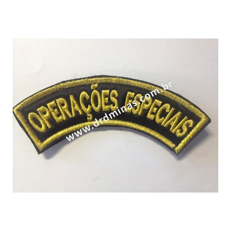 Distintivo Bordado Operações Especiais - II - U