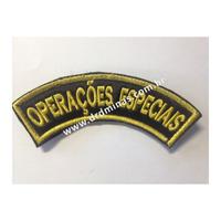 Patch / Distintivo Bordado Operações Especiais - II - U