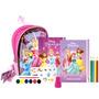 Mochila De Livros E Acessórios Princesas Disney Dcl