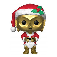 Holiday C-3PO as Santa Pop Funko #276 - Natal - Star Wars