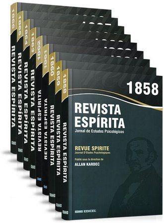 Coleção Completa Revista Espirita - 1858 À 1869 - Mediunika Original