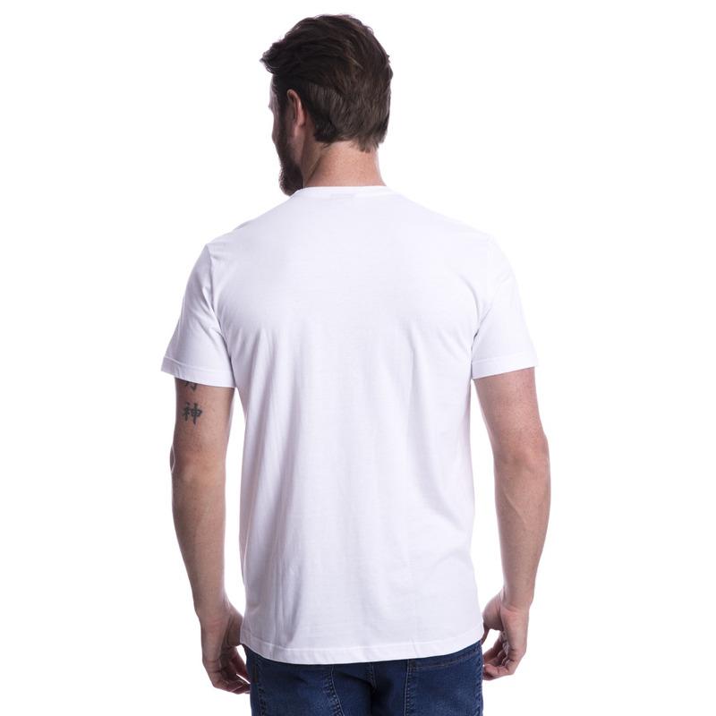 Camiseta Long Island Caveira Branca