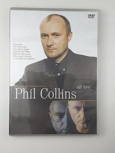 Dvd Phil Collins All Live Original