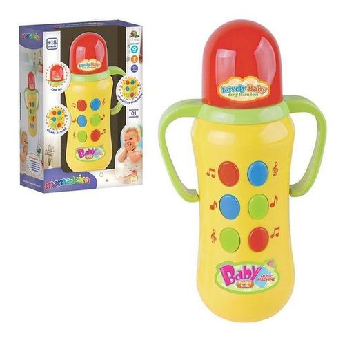 Brinquedo Infantil Mamadeira Musical Divertidas E Luz Original
