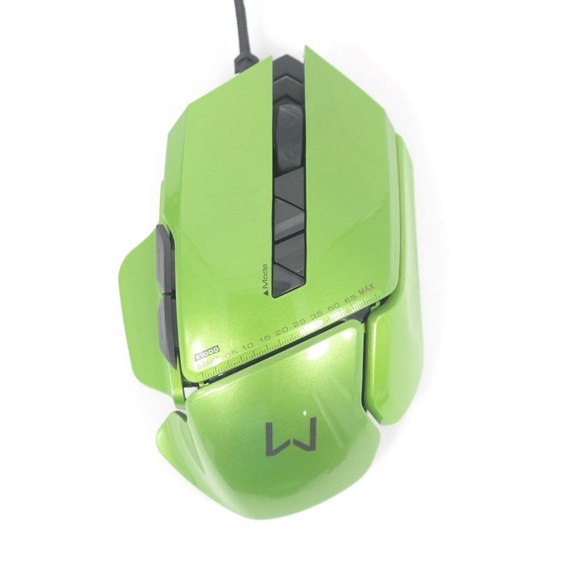 Mouse Gamer 8 Botões 2800 dpi Warrior Multilaser - MO247