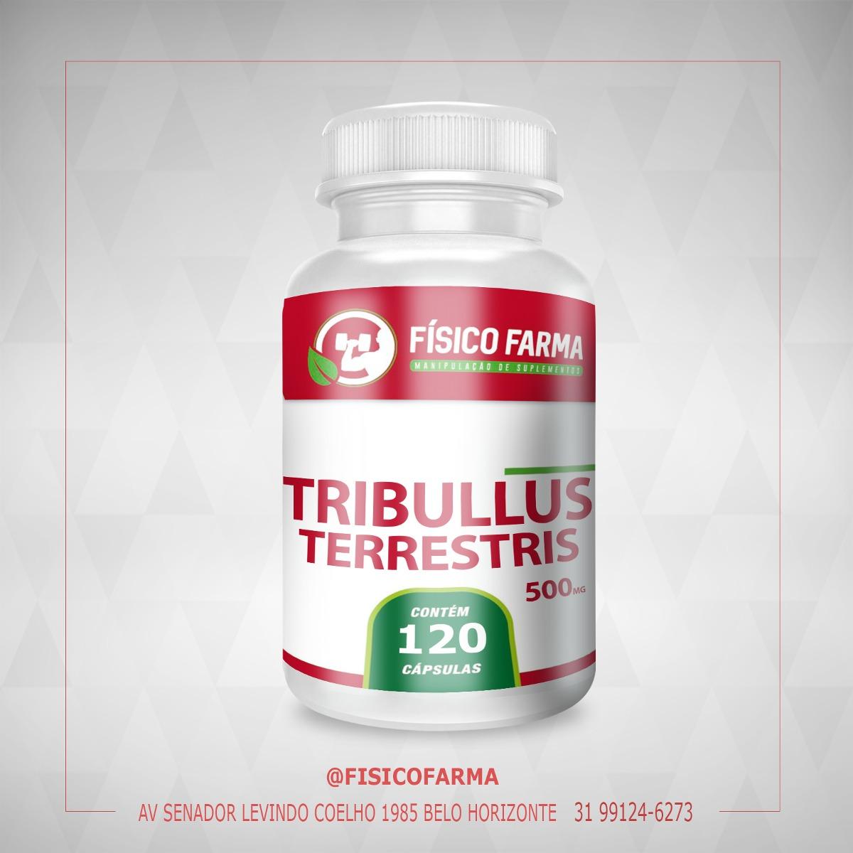 Tribulus Terrestris 500mg 120 cáps