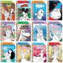 Coleção Disney 12 Livros P/ Colorir E Atividades 10x15, 5cm