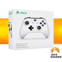 Controle Xbox One S Wireless - Branco