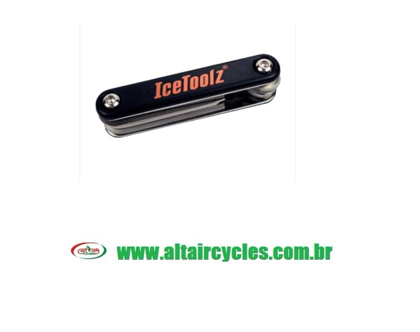 CHAVE ALLEN ICE TOOLZ 9 pçs. CANIVETE