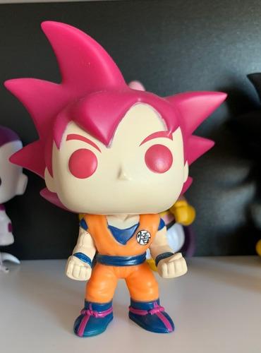 Pop Funko Dragon Ball Goku Deus Super Saiyajin Sem Caixa Original