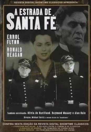 A Estrada De Santa Fé - Dvd   Michael Curtiz Original