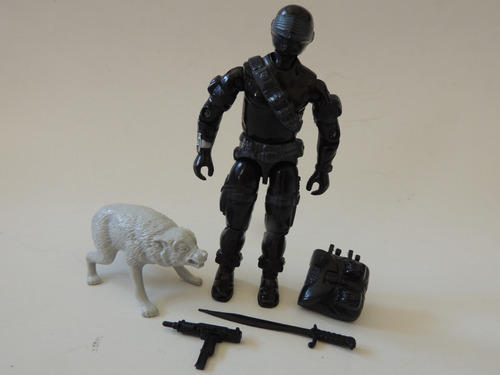 Gi Joe - Snake Eyes - 1985  (kb 19) Original