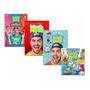 Promoção Coleção 4 Livros Luccas Neto Brincando / Aventure