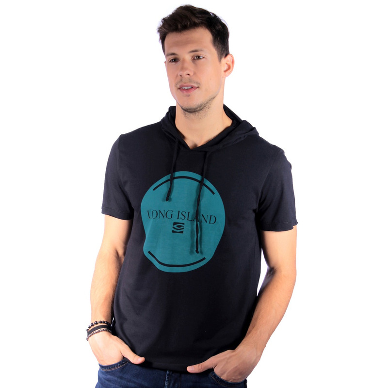 Camiseta Long Island BL Preta