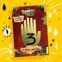 Livro Gravity Falls Diário 3 Original Envio Imediato