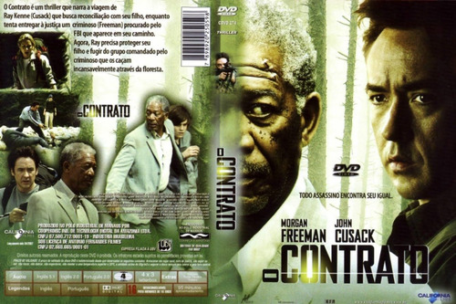 O Contrato - Morgan Freeman - John Cusak Original