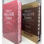 Bíblia Da Mulher Sábia E Homem Sábio Com Harpa E Índice