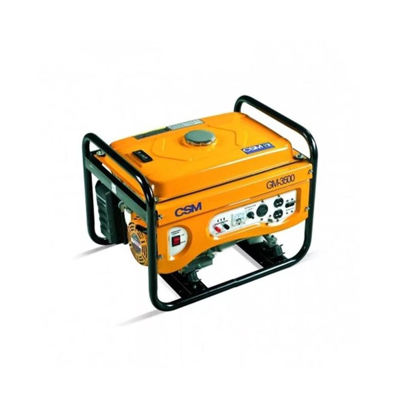 Gerador a gasolina mono GM 3500 CSM 110/220V