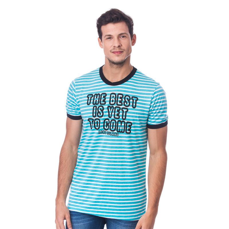 Camiseta Long Island Best Azul Clara