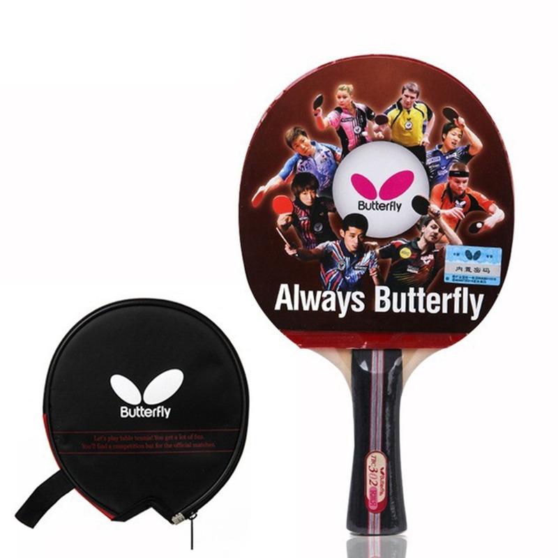 Butterfly Raquete Tenis Mesa Tbc 302 Yuki 2.1mm + Raqueteira