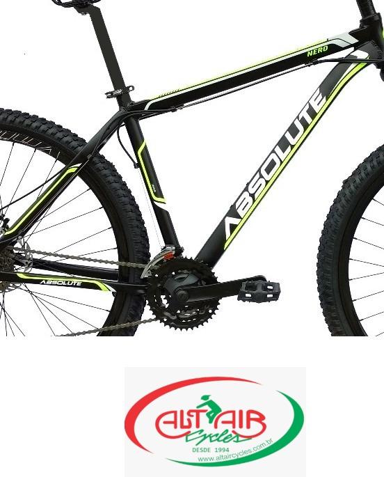 "Bicicleta Absolute Nero Aro 29"" Tam 21"""