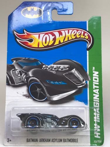 Hot Wheels Batman Arkham Asylum Batmobile - X1711 - Lacrado Original