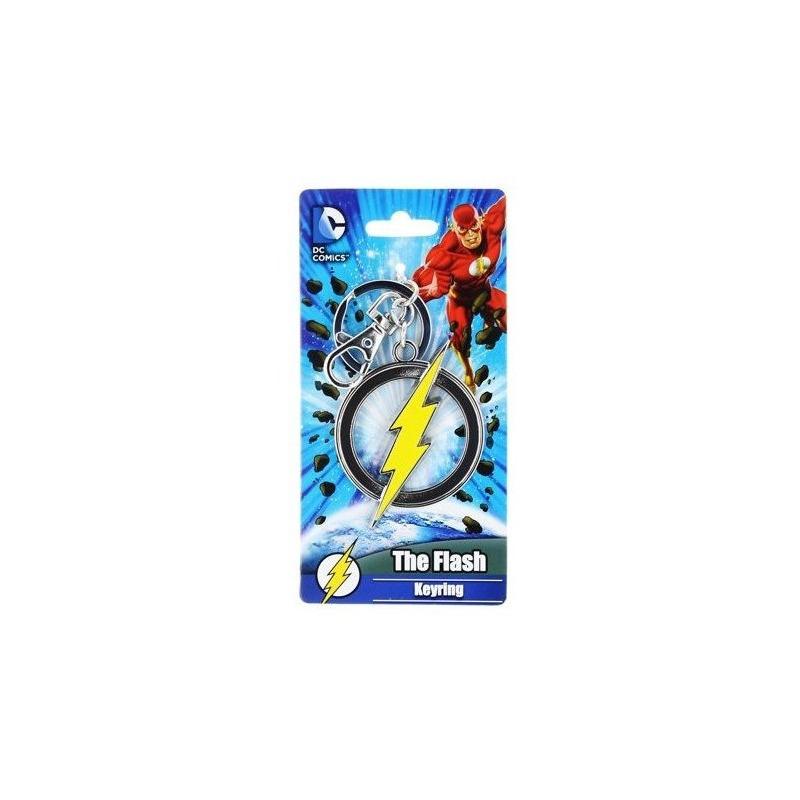 Chaveiro Flash Logo Monogram - Pewter Keyring - DC