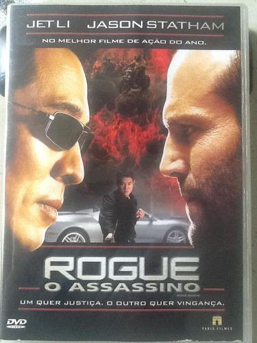 Dvd Rogue - O Assassino - Envio Grátis Por  Original