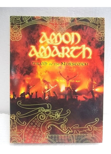 Amon Amarth Dvd Triplo  Impecável Original