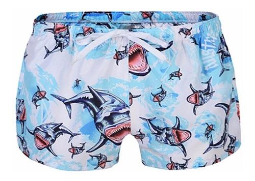 Short Masculino Moda Praia Estampa Summer Fashion Original