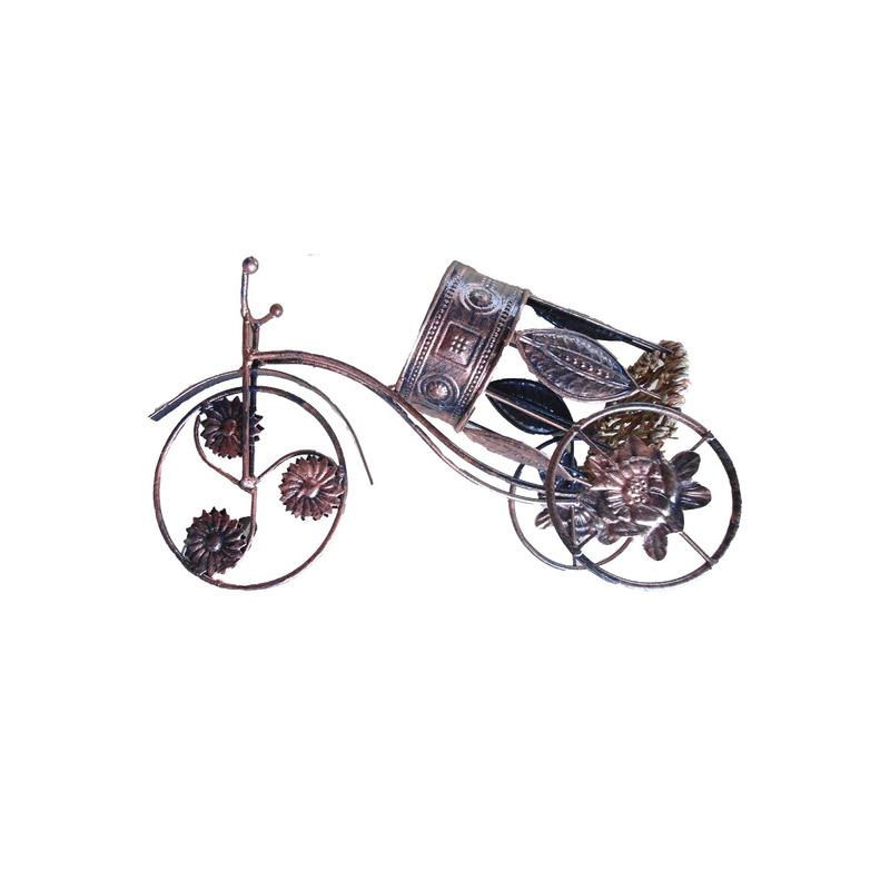 Porta Vinho Bicicleta Metal - Souvenir Góes