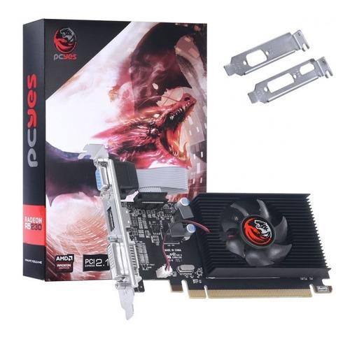 Placa De Video Amd Radeon R5 230 2gb Ddr3 64 Bits Oferta Original