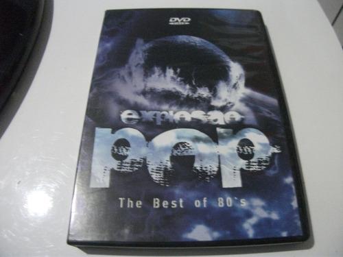 Dvd  Explosao Pop The Best Of 80s Original