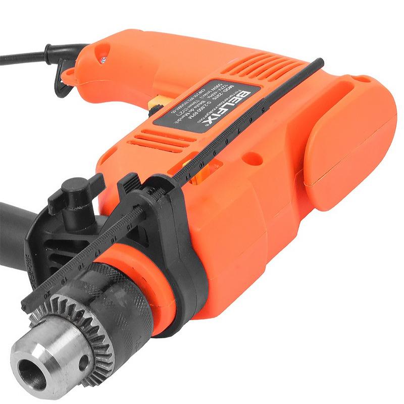 Kit Furadeira de Impacto 500 Watts + Bits e Brocas - Belfix - 110 Volts