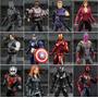 Vingadores Guerra Civil Capitão America Pantera Visão