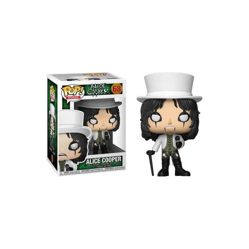 Alice Cooper Pop Funko #68 - Rocks S4