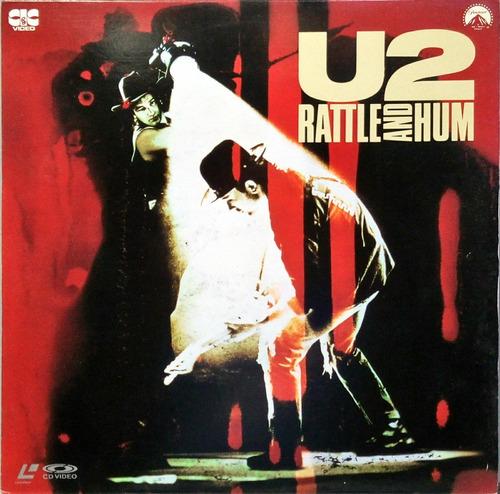 U2 Ld Laserdisc 1989 Rattle And Hum 16918 Original
